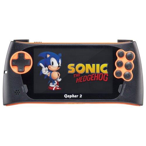 Игровая приставка SEGA Genesis Gopher 2 (500 игр) оранжевый