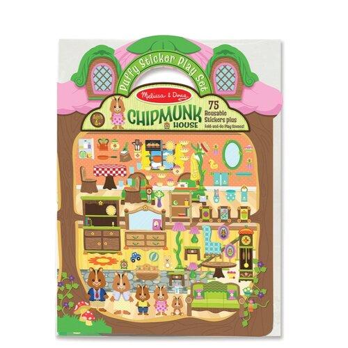 Купить Книжка с наклейками Дом хомячка (9101), Melissa & Doug, Книжки с наклейками