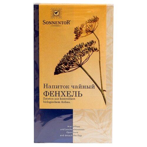 Чайный напиток травяной Sonnentor Фенхель в пакетиках, 20 шт.