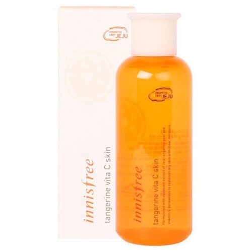 Innisfree Тонер Tangerine Vita C Skin 200 мл innisfree тонер питательный ginger honey ampoule skin 200 мл