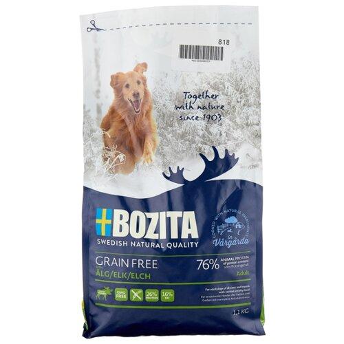 Сухой корм для собак Bozita курица, лось с картофелем 1.1 кг сухой корм для собак bozita баранина с картофелем 3 5 кг