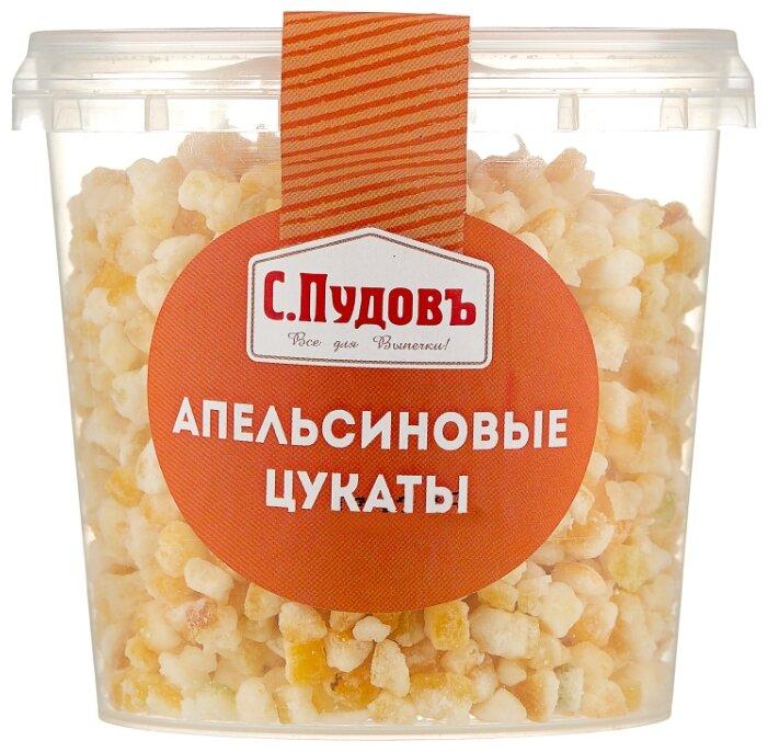 Апельсиновые цукаты С.Пудовъ резаные, 200 г
