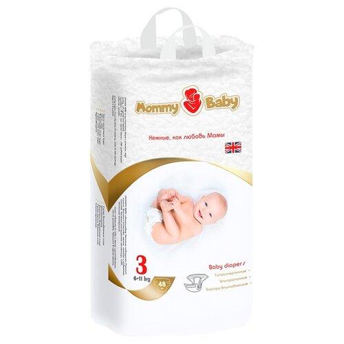 Купить Mommy Baby подгузники 3 (6-11 кг) 48 шт., Подгузники