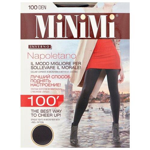 Фото - Колготки MiNiMi Napoletano, 100 den, размер 2-S/M, nero (черный) колготки minimi elegante 40 den размер 2 s m nero черный