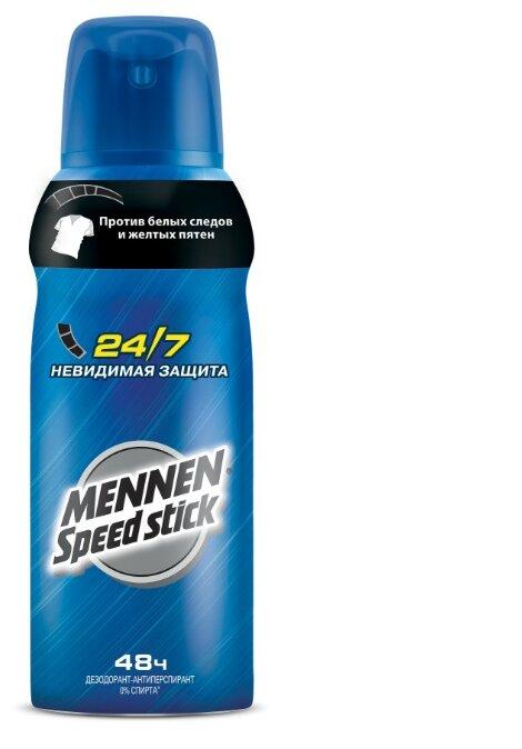 Дезодорант-антиперспирант спрей Mennen Speed Stick 24/7 Невидимая защита
