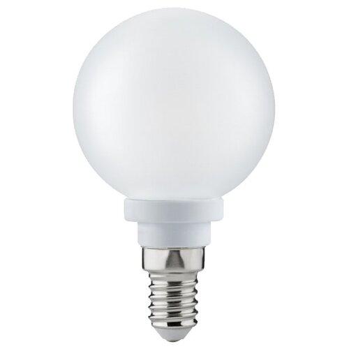 Лампа светодиодная Paulmann 28269, E14, 3Вт лампа светодиодная paulmann 28224 gu10 3вт