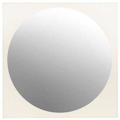 Зеркало Мастер Рио Симпл Белое 30х30 в раме