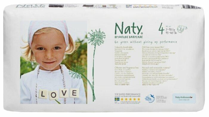 Naty подгузники 4 (7-18 кг) 46 шт.