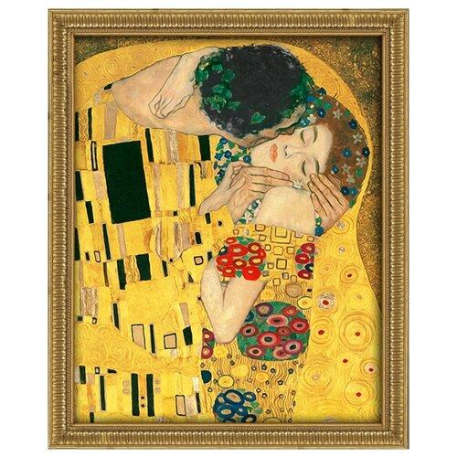 Купить Алмазная живопись Набор алмазной вышивки Поцелуй (АЖ-1530) 40x50 см, Алмазная вышивка