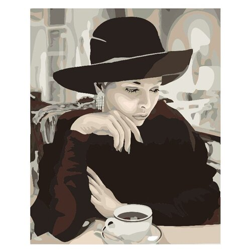 Molly Картина по номерам Ожидание 40х50 см (KH0181)Картины по номерам и контурам<br>