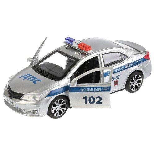 Купить Легковой автомобиль ТЕХНОПАРК Toyota Corolla (COROLLA-P) 12 см серебристый, Машинки и техника