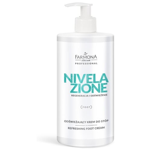 Купить Farmona Крем для ног Nivelazione антибактериальный охлаждающий 500 мл