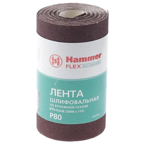 цена на Hammer 216-012 Лента шлифовальная в рулоне