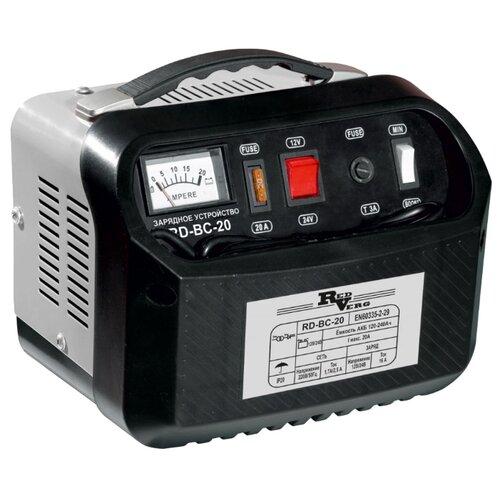 Зарядное устройство RedVerg RD-BC-20 черный/серый