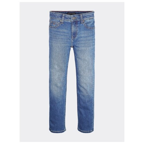 Джинсы TOMMY HILFIGER размер 164, ocean mid blue stretch джинсы tommy hilfiger tommy hilfiger to263eweofq4