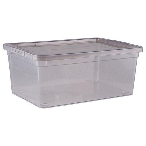 ПОЛИМЕРБЫТ Коробка для хранения Mystery 3,5л, 25,9х18,2х10,6 см прозрачный