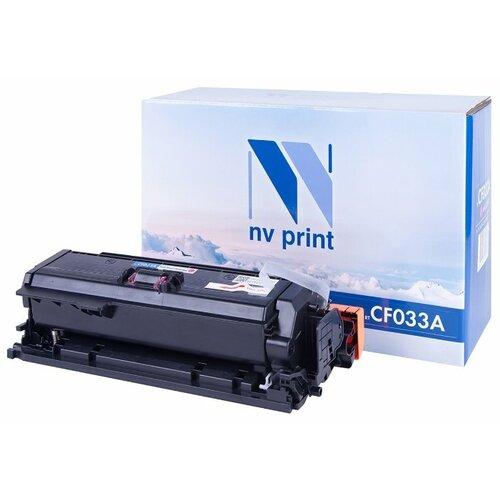Фото - Картридж NV Print CF033A для HP, совместимый картридж nv print q7551x для hp совместимый
