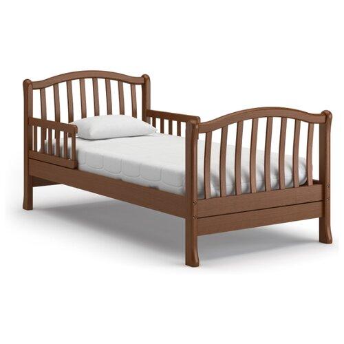 Кровать детская Nuovita Destino, размер (ДхШ): 176.5х87 см, спальное место (ДхШ): 160х80 см, каркас: массив дерева, цвет: Noce scuro цена 2017