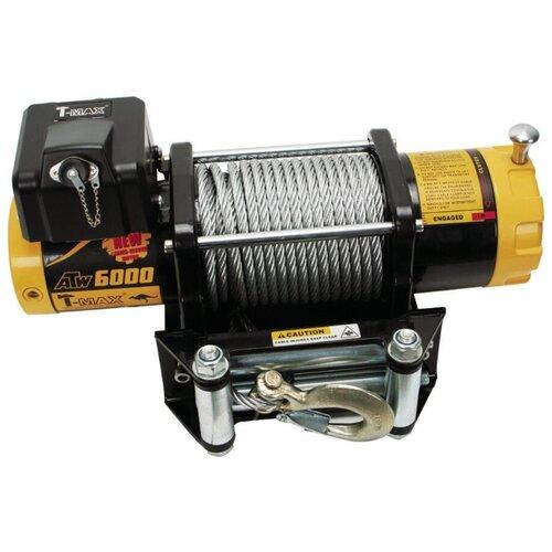 Лебедка электрическая T-Max PRO 6000 12В атв