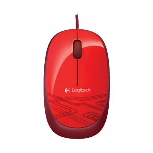 Фото - Мышь Logitech Mouse M105 Red USB мышь logitech mouse m105 red usb