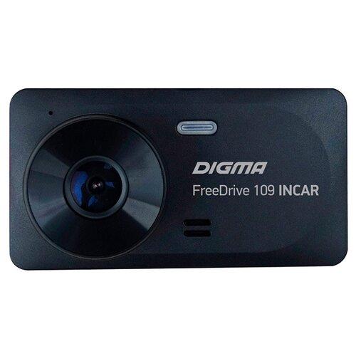 Видеорегистратор DIGMA FreeDrive 109 INCAR, 2 камеры черный