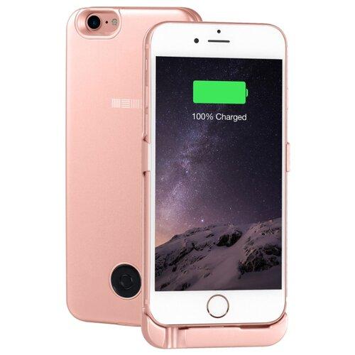 Купить Чехол-аккумулятор INTERSTEP Metal battery case для iPhone 6/7 rose gold