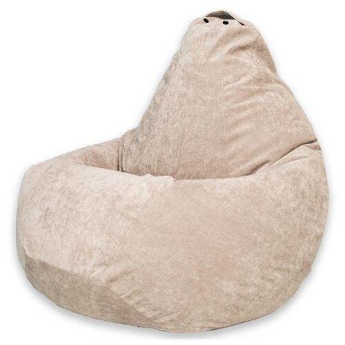DreamBag Кресло-мешок XL (классический наполнитель) бежевый вельвет