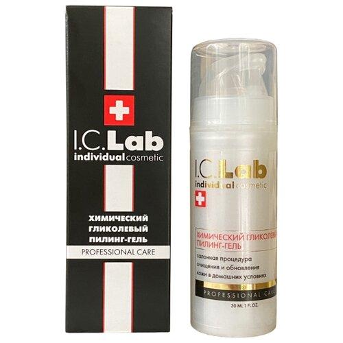 I.C.Lab пилинг-гель химический гликолевый 30 мл химический пилинг от вросших волос на ногах