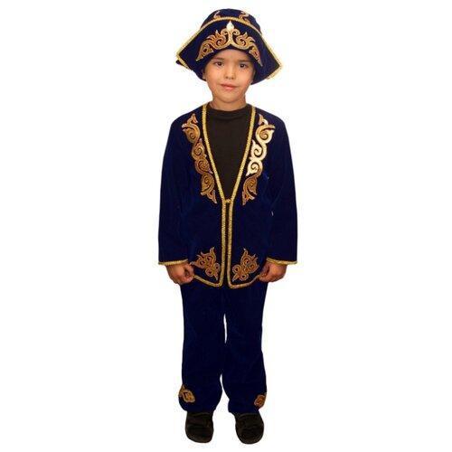Костюм Elite CLASSIC Казахский мальчик, синий, размер 34 (134), Карнавальные костюмы  - купить со скидкой