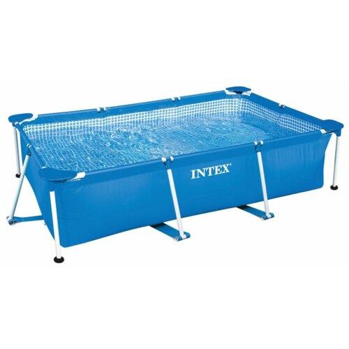 Бассейн Intex Rectangular Frame 28271/58980 intex rectangular frame 450х220х84 см синий