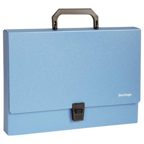 Купить Berlingo Папка-портфель Standard A4, пластик, 1000 мкм синий, Файлы и папки