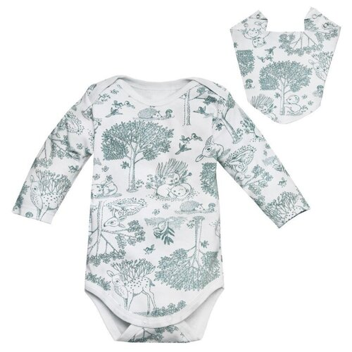 Купить Комплект одежды Amarobaby размер 80, зеленый, Комплекты