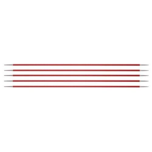 Купить Спицы Knit Pro Zing 47033, диаметр 2.5 мм, длина 20 см, гранатовый