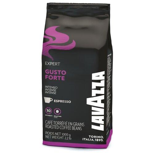 цена Кофе в зернах Lavazza Gusto Forte, робуста, 1000 г онлайн в 2017 году