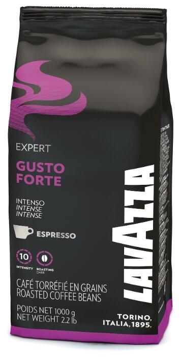 Кофе в зернах Lavazza Gusto Forte — купить по выгодной цене на Яндекс.Маркете