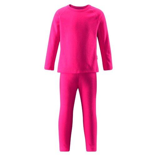 Комплект термобелья Reima Lani 526197 размер 140, 4670 розовый