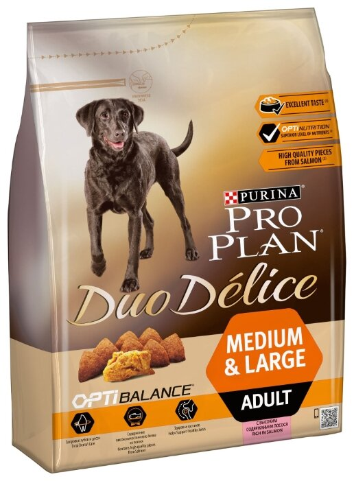 Корм для собак Pro Plan Optibalance лосось