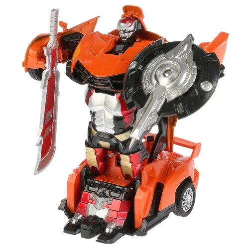 Купить Робот-трансформер Технодрайв Роботрон 1801C214-R оранжевый, Роботы и трансформеры