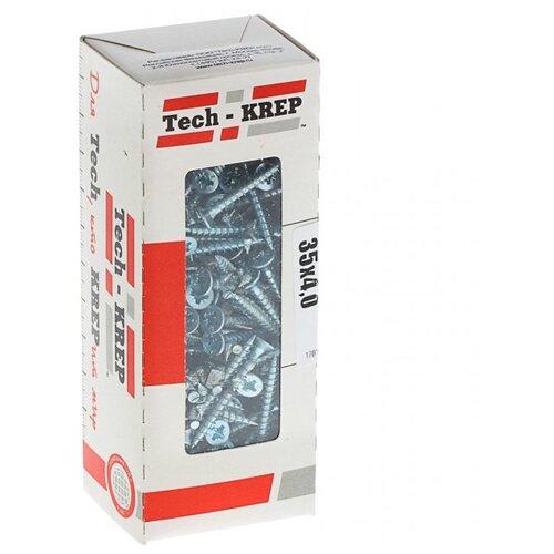 Саморез Tech-KREP 102181 4х35 200 шт саморез tech krep 3 5 35 редкая резьба 1кг