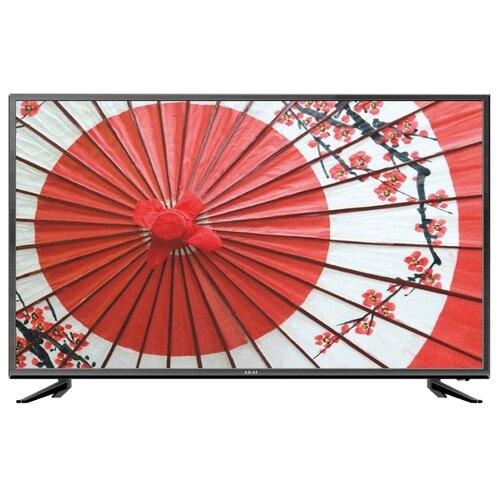 Фото - Телевизор AKAI LES-55V90М 55 (2019) черный led телевизор akai lea 39d102m черный