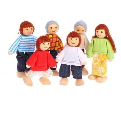 Купить Набор кукол Shantou Gepai Семья, TNWX-6164, Куклы и пупсы