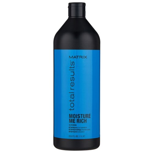 Фото - Matrix шампунь для волос Total Results Moisture Me Rich 1000 мл matrix кондиционер total results moisture me rich увлажняющий мойсчер ми рич 1000 мл