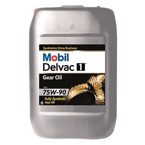 Трансмиссионное масло MOBIL Delvac 1 Gear Oil 75W-90 20 л