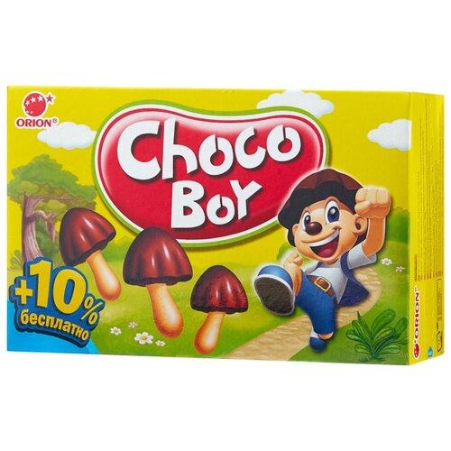 Печенье Choco Boy Грибочки, 100 г конфитрейд маша и медведь печенье грибочки с подарочком 42 г