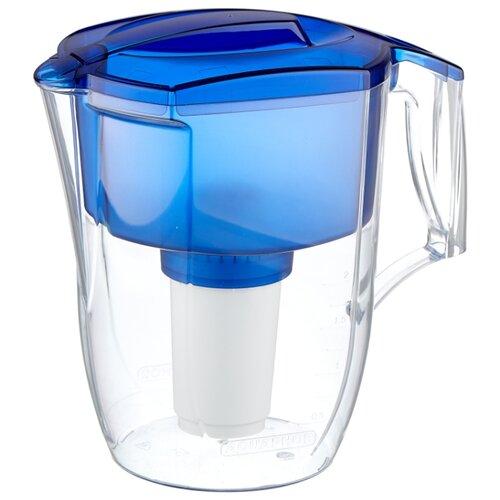 Фильтр кувшин Аквафор Гарри синий кувшин аквафор аквамарин p81а5f цикламеновый