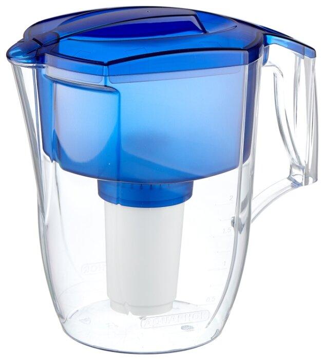 Фильтр кувшин для воды Аквафор Гарри green