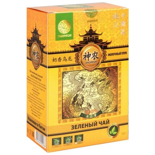 Чай зеленый Shennun Молочный улун, 100 г shennun чай зеленый листовой 100 г