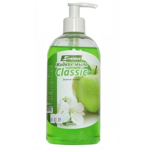 Мыло жидкое Syntheco Classic Зеленое яблоко, 500 мл мыло жидкое syntheco без