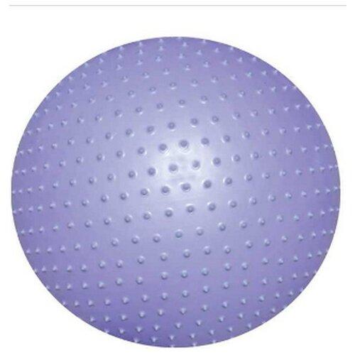 Фитбол ATEMI AGB-02-75, 75 см фиолетовый фитбол atemi agb 01 55 55 см салатовый