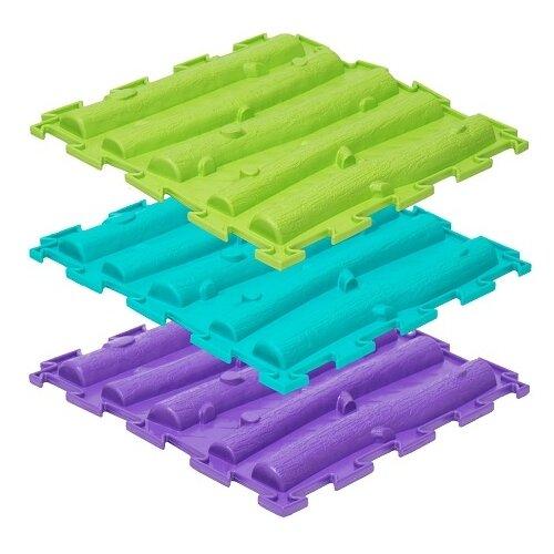 Купить Модульный коврик Ортодон. Лесенка (жесткий), ПластФактор, Игровые коврики